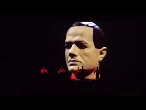 Kraftwerk-The Robots--Live 2018  in Athens, Greece at Tae Kwon Do Stadium --03-03-2018