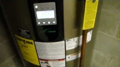 Installing A New Electric Water Heater - Part 3  Filling the new heater, placing it in service.