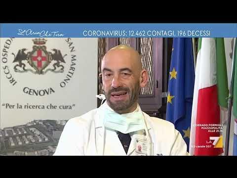 Coronavirus, l'infettivologo Matteo Bassetti sui contagi: 'I numeri sono impressionanti, nel ...