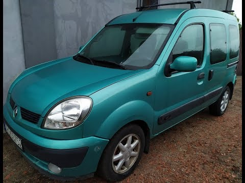 Осмотр Renault Kangoo