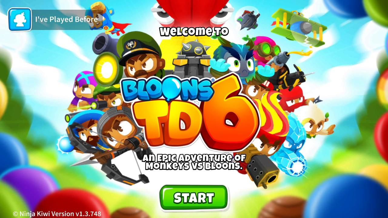 BLOONS TOWER DEFENSE 6 IS HERE! | BTD6