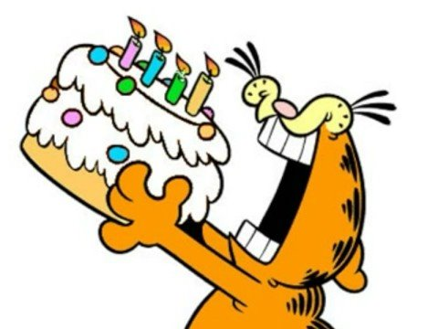 gefeliciteerd youtube gefeliciteerd Garfield   YouTube gefeliciteerd youtube