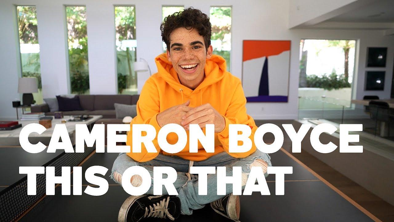 Cameron boyce dating quiz