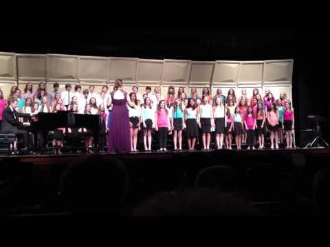 Readington Middle School Spring Chorus Concert 2013 - Touch The Sky