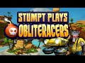 Obliteracers - #1 - Cart Racing Madness (4 Player Gameplay)