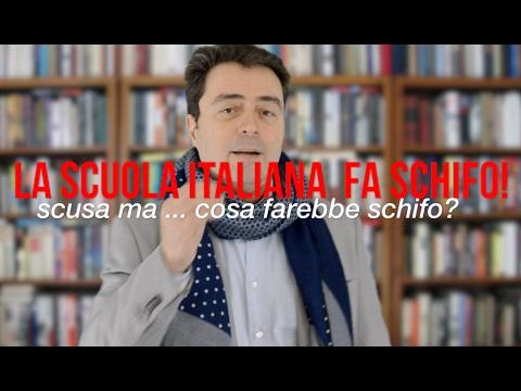 La scuola italiana fa schifo