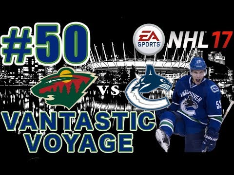 "NHL 17: Vancouver Canucks Franchise Mode #50 ""Round 1"""