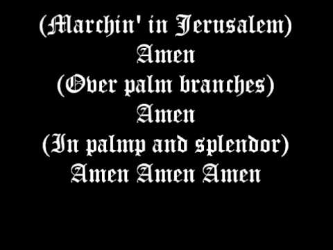The Lilies of the Field~Amen Amen Amen Lyrics