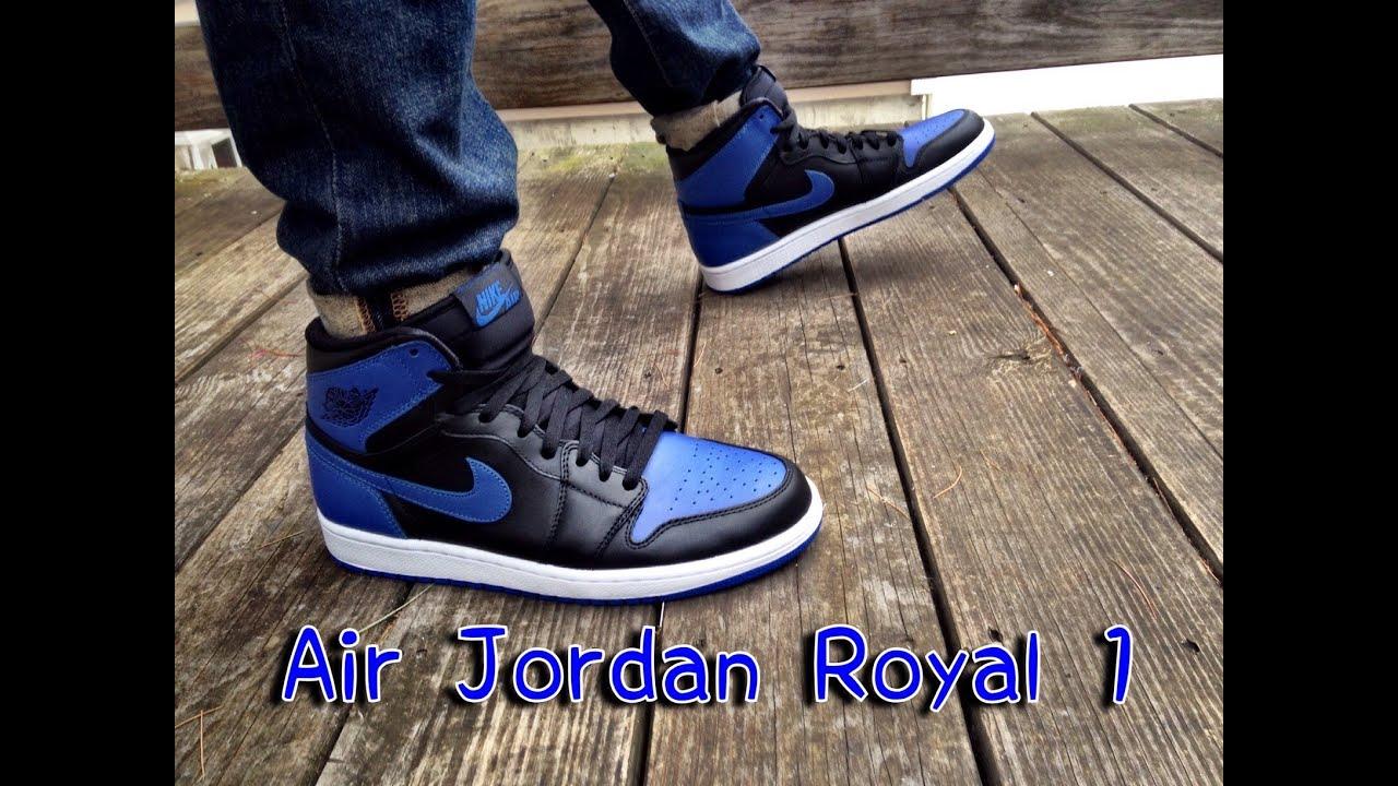 8398a184263 Nike Air Jordan Retro OG High Royal 1 Review & On Feet - YouTube