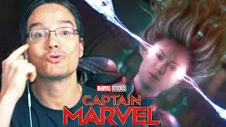TRAILER CAPITÃ MARVEL LEGENDADO - REACT E ANALISE