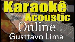 Baixar Gusttavo Lima - Online (Karaokê Acústico) playback