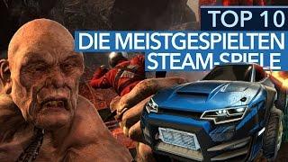 Die 10 meistgespielten Steam-Spiele - Erstaunliche »Player Peaks« bei Steam