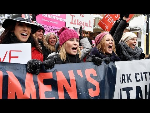 Women's March 2017: See the Celebs Taking a Stance!