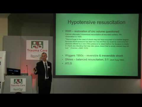Trauma Care Conference 2014: Shock and Resuscitation in Trauma