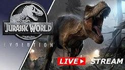 Jurassic World Evolution #01  | Livestream | Deutsch German