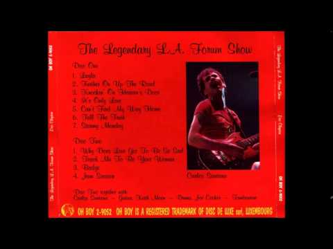 Eric Clapton - The Legendary  L .A. Forum Show - 1975 -
