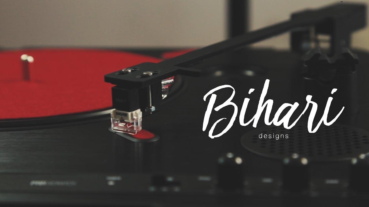 Bihari Tonearm for PT01 Scratch Installation Tutorial