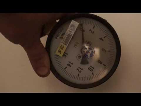 Как измерить напор воды своими руками