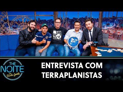 Entrevista Com Terraplanistas  | The Noite (29/10/19)