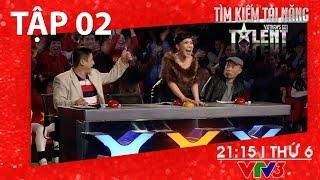 [FULL HD] Vietnam's Got Talent 2016 - TẬP 02 (08/01/2016)