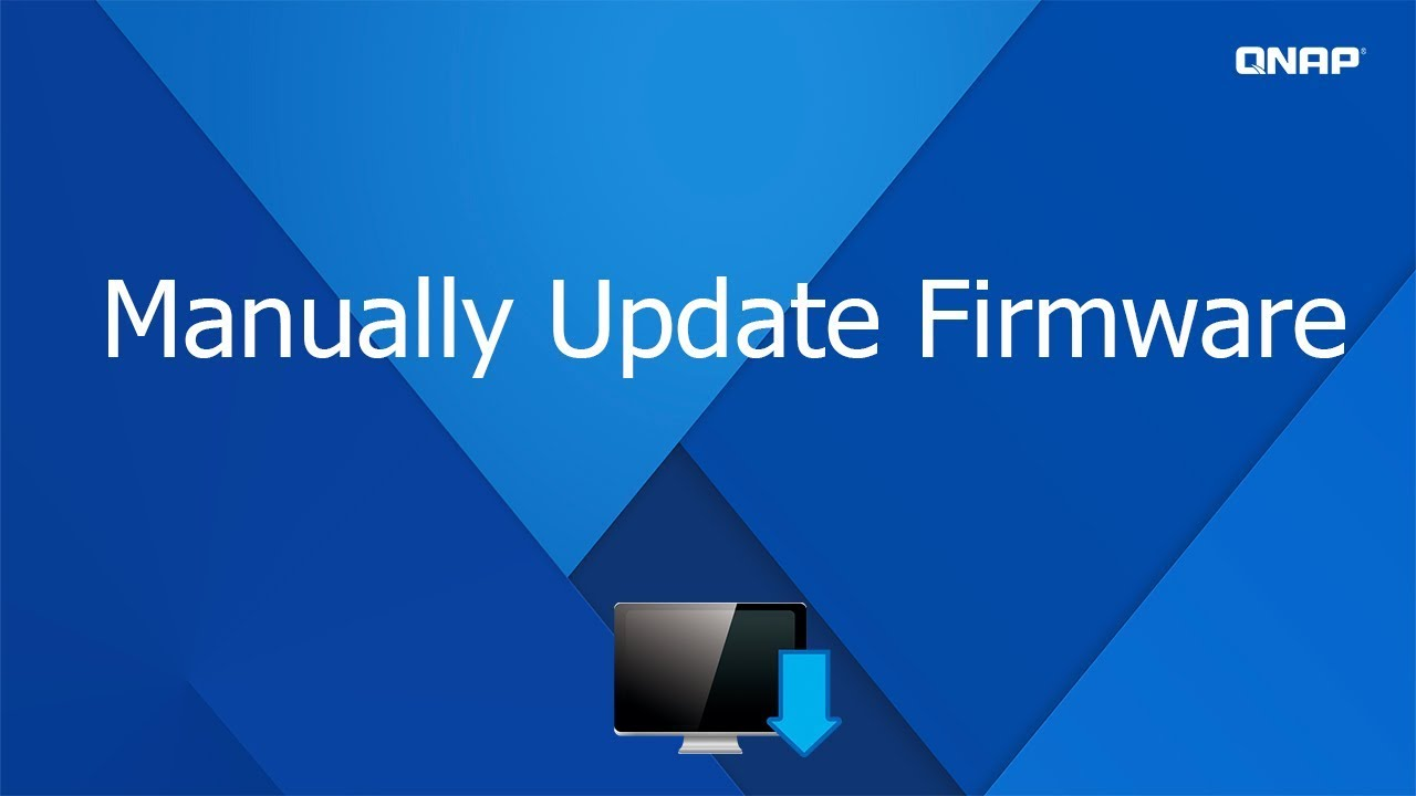 QNP165 - Manually Update Firmware for QNAP NAS