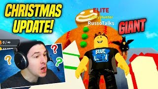THIS CHRISTMAS UPDATE in TREASURE HUNT SIMULATOR is AMAZING!! *LIMITED PETS* (Roblox)