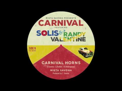 Mista Savona - 'Carnival Horns' feat. Julito Padron [from the Havana Meets Kingston project]