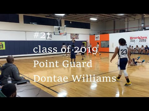 Dontae Williams #21 Cobble Hill Highlights