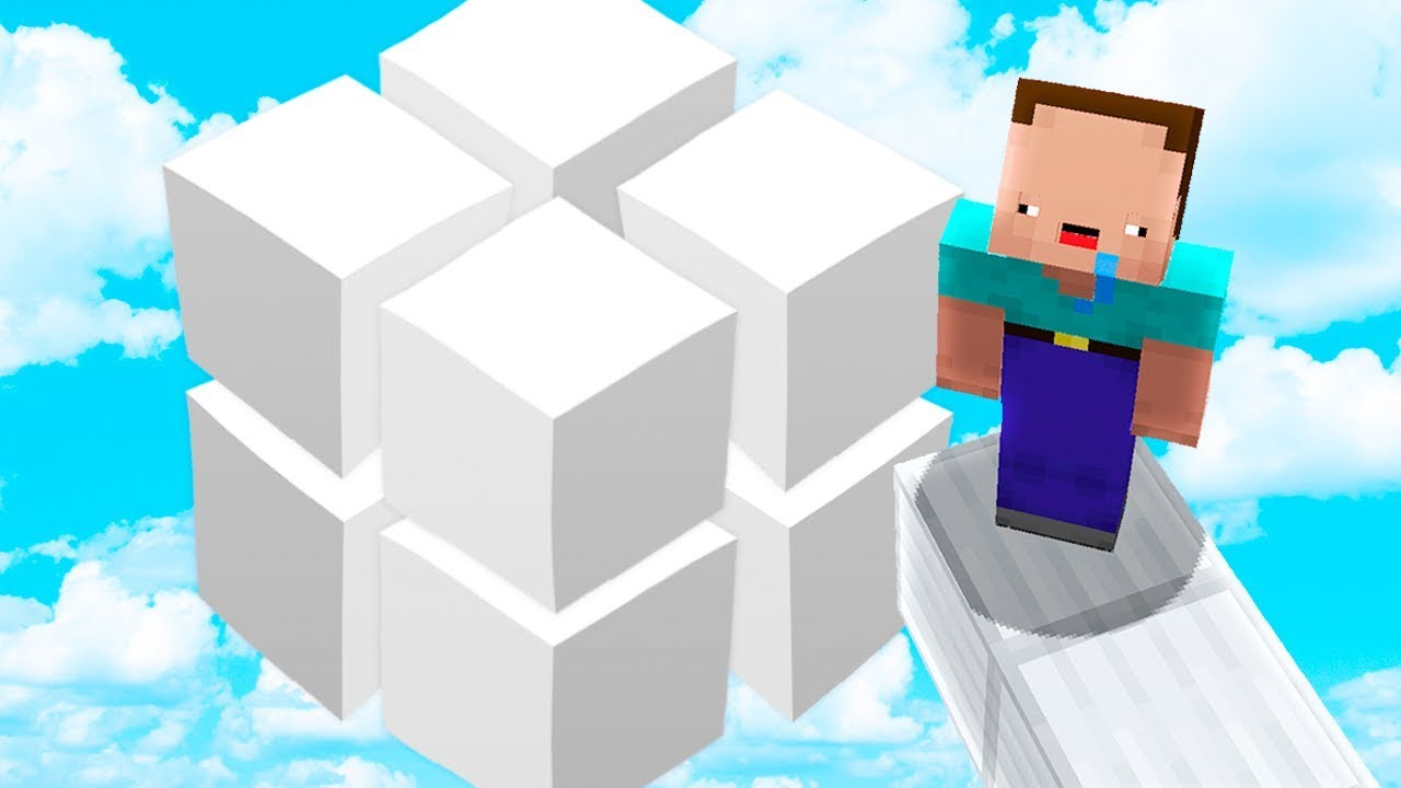 WHOLE MINECRAFT WORLD IN ONE CUBE!
