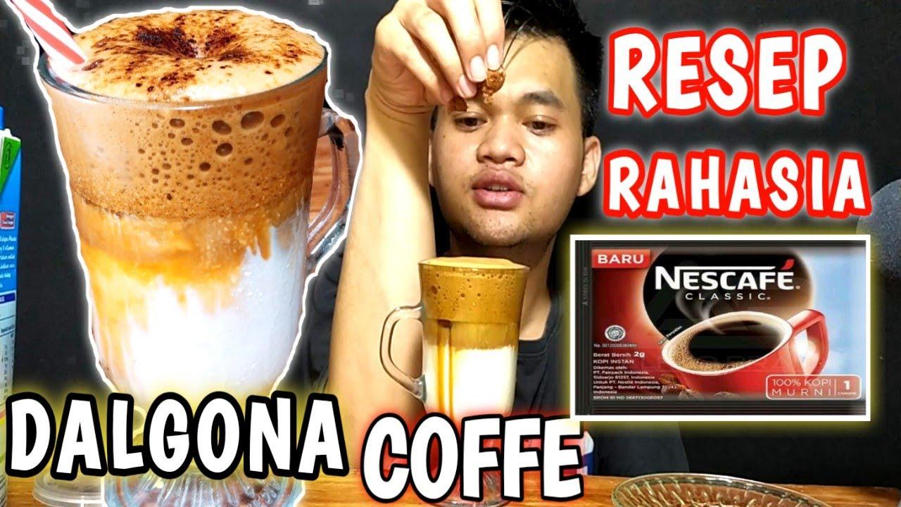 CARA MEMBUAT DALGONA COFFEE TANPA MIXER | PAKE MIXER ...