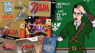 The Legend of Zelda Timeline - Angry Video Game Nerd (AVGN)