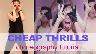 Sia 'CHEAP THRILLS' Dance Tutorial | Andrea Wilson