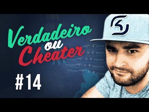 VERDADEIRO ou CHEAT #14 (FalleN Overwatch CSGO)