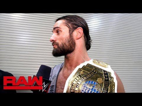Seth Rollins wants to face AJ Styles: Raw Exclusive, April 9, 2018