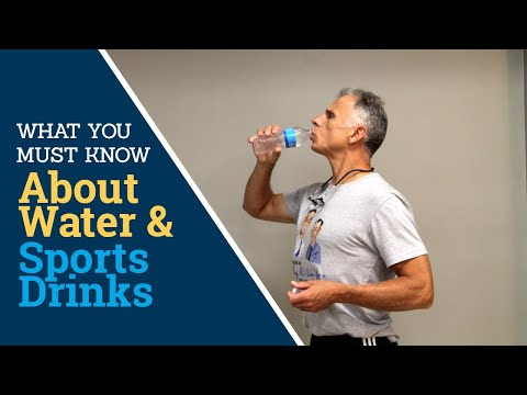 SHOCKING! What Everyone Must Know About Water & Popular Sports Drinks