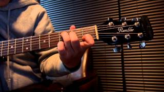 きよしこの夜(SILENT NIGHT)をギター一本で演奏してみました。