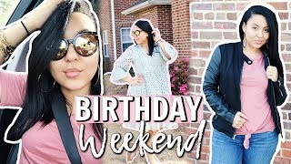 MY 27TH BIRTHDAY / EASTER WEEKEND VLOG | COME TO CHURCH WITH ME 2018 | Page Danielle