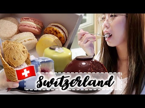 Swiss Dessert Overload | SWITZERLAND VLOG