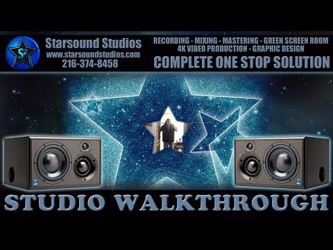 Recording Studio Video Walk Through Tour Best Recording Studio Cleveland Ohio Starsound Studios ⭐✅