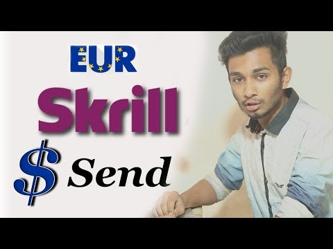 How To Send Skrill Eur To Usd Dollar | Bangla Tutorial