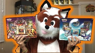 HALLOWEEN SPECIAL! PRIMAL KYOGRE & PRIMAL GROUDON COLLECTION BOX : POKEMON CARD OPENING