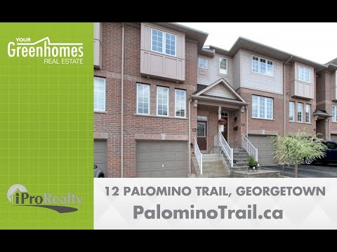 *SOLD* 12 Palomino Trail - Georgetown ON
