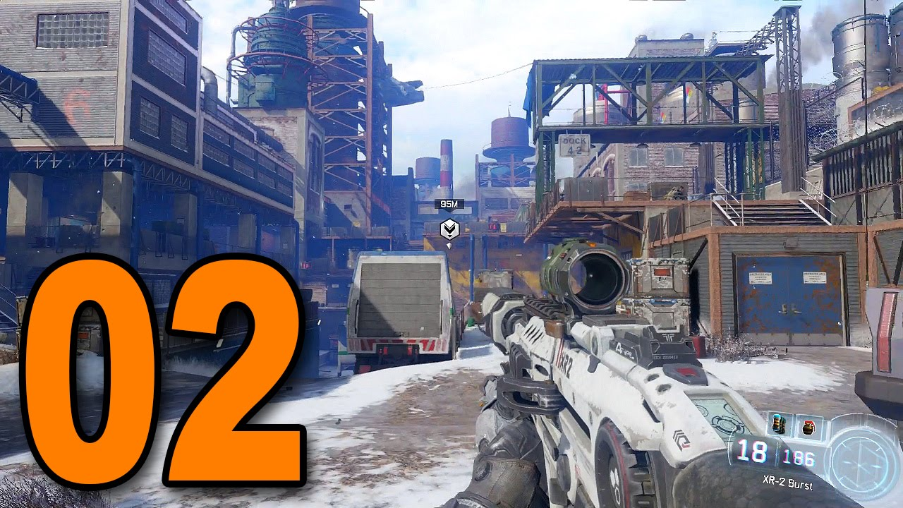 Black Ops 3 Mission 2 New World Call Of Duty Bo3 Singleplayer Campaign Gameplay Youtube
