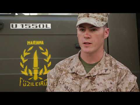 Marines and Fuzileiros Assault Compound Simultaneously B-Rol