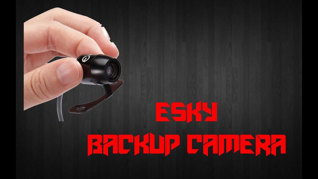esky backup camera installation instructions