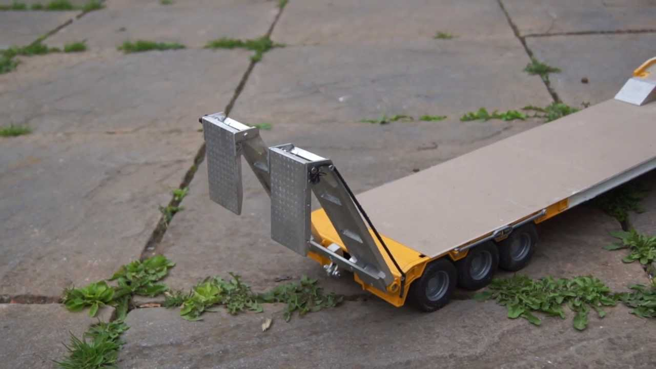 how to make a rc trailer out of wood