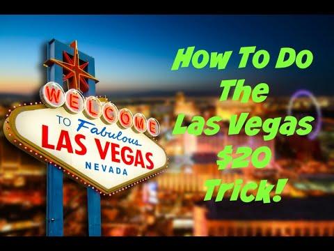 How To Do The Las Vegas $20 Trick  |  How To Do The Las Vegas Twenty Dollar Trick