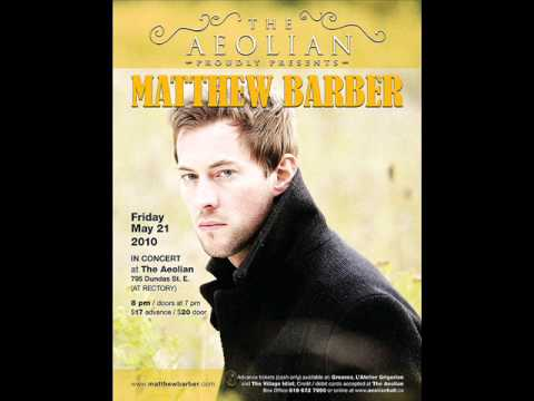 Matthew Barber-I miss you when you're gone
