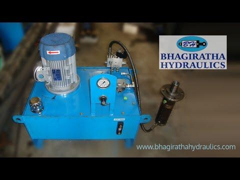 Hydraulic Cylinders Powerpack Presses Fabrication at Peenya in Bengaluru /Bangalore