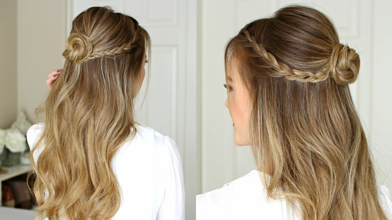 easy half up prom hairstyle | missy sue